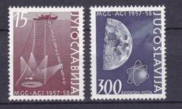 Yugoslavia - 1958 Year - Michel  868/9 - 1945-1992 Socialist Federal Republic Of Yugoslavia