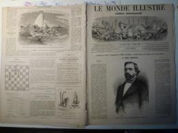 Le Monde Illustré 16 Mars 1867 518 Exposition Universelle Billancourt Expedition De Corée Kong Hoa - Boeken, Tijdschriften, Stripverhalen