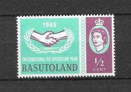 International Co-operation Year : N°97 Chez Michel. (Voir Commentaire) - Basutoland (1933-1966)