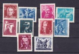 Yugoslavia - 1951 Year - Michel  658/665+672/673 - MNH - 1945-1992 Socialist Federal Republic Of Yugoslavia