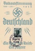 Volksabstimmung Deutschland 1938 - Alemania