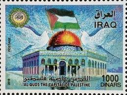 Iraq 2019 NEW MNH Stamp Jerusalem Capital Of Palestine - Iraq