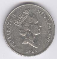 NEW ZEALAND 1988: 20 Cents, KM 62 - New Zealand