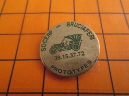 1419 Pin's Pins : BEAU ET RARE : Thème AUTOMOBILES / PROTOTYPES SOCERP BRUCIAFERI - Pins