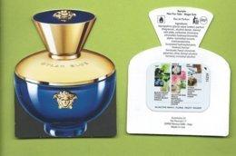 VERSACE * DYLAN BLUE + PATCH *V/R - Cartes Parfumées