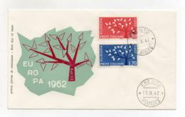 Italia - 1962 - Busta FDC Filagrano - Europa - C.E.P.T - Con Doppio Annullo Trento - (FDC18200) - Europa-CEPT
