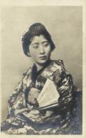 Portrait Japonaise Eventail RV - Japon