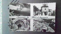 47 CARTE  DU MAS D/AGENAIS N° DE CASIER 1174 CVIERGE - France