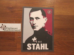 Postkarte Ernst Jünger Stahl (Division Antaios) - Books, Magazines, Comics