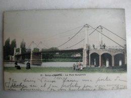SOISY SOUS ETIOLLES - Le Pont Suspendu (animée) - Francia