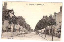 Lot 2 CPA Moulins Route De Lyon Avenue Théodore De Banville 03 Allier - Moulins