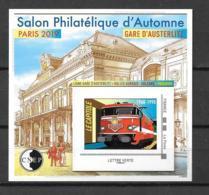 2019- **MNH - Salon Philatélique D'Automne Gare D'Austerlitz - CNEP