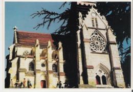 TAVERNY. CP Notre Dame De Taverny Maquette Réalisée Par Claude Nivet (tirage Limité) - Taverny