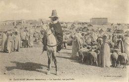 CPA MAROC Geiser TAOURIRT Le Marche, Vue Partielle (69069) - Maroc