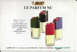 BIC LE PARFUM  NU - Advertising