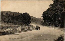 CPA ROSNY-sur-SEINE - La Route Du HAVRE - Un Virage (246354) - Rosny Sur Seine
