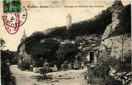 CPA MANTES-LIMAY - Ermitage De St-SAUVEUR Exterieur (246649) - Limay