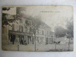 MORANGIS - La Place (animée) - France