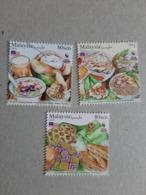 2019 Malaysia Day Food Muslim Halal Cuisine Meal Dessert Cake Fruit Set Stamp MNH - Malaysia (1964-...)
