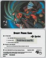PREPAID PHONE CARD SPRINT USA NEW (A37.6 - Sprint