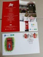 2019 Malaysia World Post Day Postcrossing Postbox Mailbox UPU Postal Mountain  FDC Set Stamp - Malaysia (1964-...)