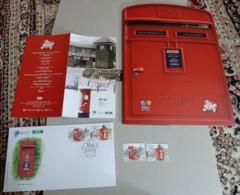 2019 Malaysia World Post Day Postcrossing Postbox Mailbox UPU Postal Mountain  Folder FDC Set Stamp Mnh - Malaysia (1964-...)