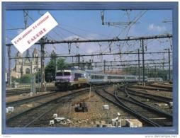 Carte Postale 21. Dijon-Ville La Gare  Train TER CC 72186 Trés Beau Plan - Dijon