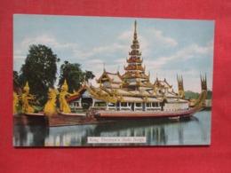 Burma King Theebaw's State Barge    Ref 3707 - Myanmar (Birma)