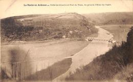 La Roche En Ardenne - Cielle Les échavées Et Pont Du Tram, Vue Prise De L'Hôtel Du Chalet (Desaix) - La-Roche-en-Ardenne
