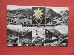 Edelweiss Attached To Card    Austria > Vorarlberg > Kleinwalsertal    Ref 3707 - Kleinwalsertal