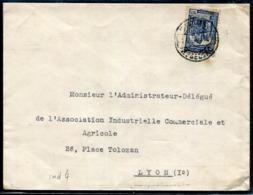 PORTUGAL - N° 584 / LETTRE DE LISBOA LE 16/3/1936 POUR LYON - B - 1910-... République