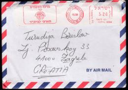 Israel Tel Aviv 2001 / Meter, Machine Stamp On Post Label - Israel