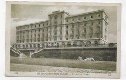 LE TOUQUET PARIS PLAGE - N° 161 - ATLANTIS HOTEL - CPA  VOYAGEE - Le Touquet