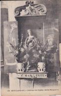 CPA BATZ  INTERIEUR DE L' EGLISE SAINTE MARGUERITE - Batz-sur-Mer (Bourg De B.)