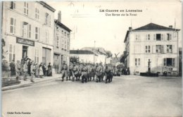 54 BADONVILLER -  La Guerre En Lorraine - Une Revue Sur Le Front Cliché Emile Fournier - Café De France Militaire Corres - Francia