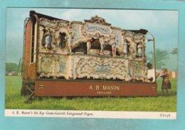 Small Post Card Of Transport,A.B. Mason`s 89 Key Grote-Gavioli Fairground Organ,N90. - Cartes Postales