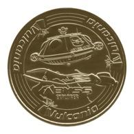 Monnaie De Paris , 2016 , Saint Ours Les Roches , Vulcania , Abyss Explorer - Monnaie De Paris