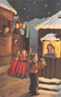 """09717 """"BUON NATALE"""" BAMBINI, LIBRI IN DONO.  CART   SPED 1958 - Natale"""