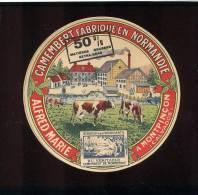 Etiquette De Fromage  Camembert -  Alfred Marie  à  Montpinçon (Calvados) - Cheese