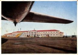 Keflavik Reykjavik  Airport Terminal 1956 - IJsland