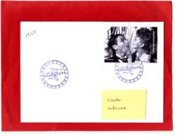 2 X1.05 € Noir, Jean-Louis Barrault, Madeleine Renaud, Obl 1er Jour 08/11/19, Bloc Acteurs, Actrices - France