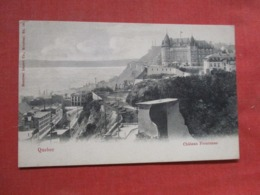 Quebec > Québec - Château Frontenac        Ref 3708 - Québec - Château Frontenac
