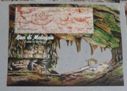2019 Malaysia Day Sarawak Caves Cave Bird Nest Fish Insect Fauna Nature Tourism Minerals Ms Miniture Stamp MNH - Malaysia (1964-...)