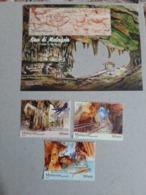 2019 Malaysia Day Sarawak Caves Cave Bird Nest Fish Insect Fauna Nature Tourism Minerals Combo Set Ms Miniture Stamp MNH - Malaysia (1964-...)