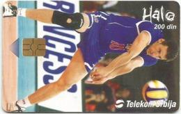 Serbia And Montenegro 30.000 / 06. 2005. Volleyball Low Tirage - Jugoslawien