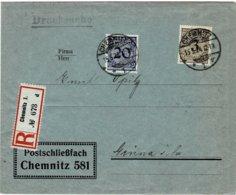 1924, Portogerechte 23 Pfg. Reko-Drucksache ,   #2562 - Deutschland
