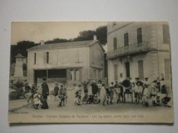 83 Bormes, Colonies Scolaires De Vacances. Les 74 Colons, Année 1907, Aux Jeux (A6p78) - Bormes-les-Mimosas