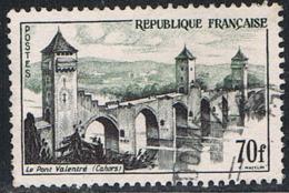 FRANCE : N° 1119 Oblitéré (Le Pont Valentré, Cahors) - PRIX : 0,75 € Soit 30 % De La Cote - - Oblitérés
