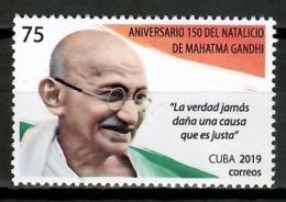 Cuba 2019 / Mahatma Gandhi MNH / Cu15023  C4-1 - Cuba
