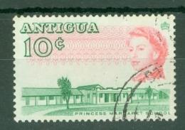 Antigua: 1966/70   QE II - Pictorial     SG187a    10c   [Perf: 13½]    Used - Antigua & Barbuda (...-1981)